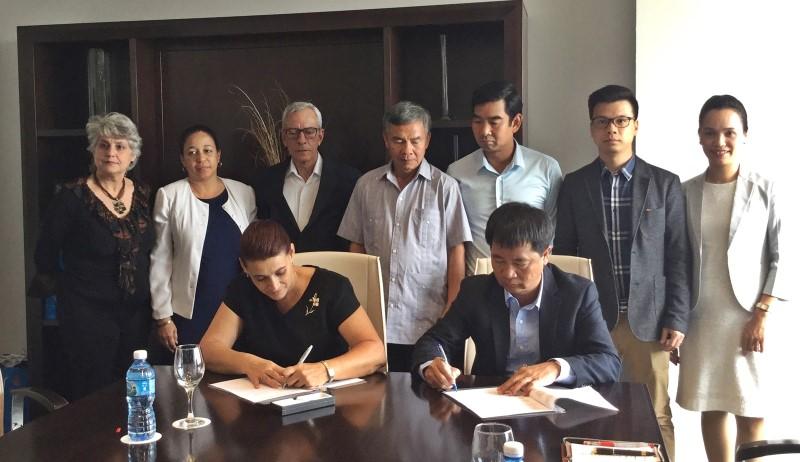 VIGLACERA: Đẩy mạnh hợp tác đầu tư tại Cuba