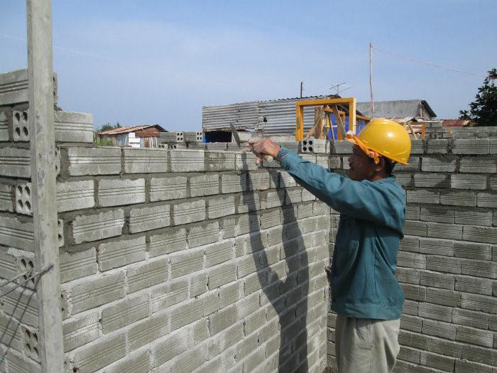 Đảm bảo tính đủ các định mức vật liệu xây không nung