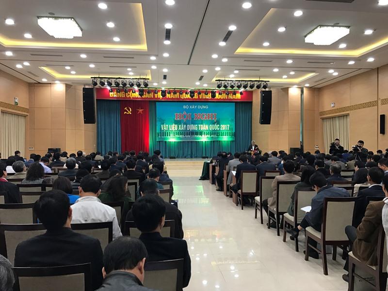Hội nghị toàn quốc về vật liệu xây dựng
