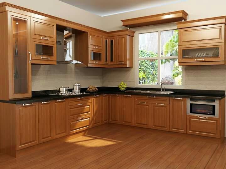 Nên lát sàn gỗ hay gạch men cho sàn bếp chung cư?