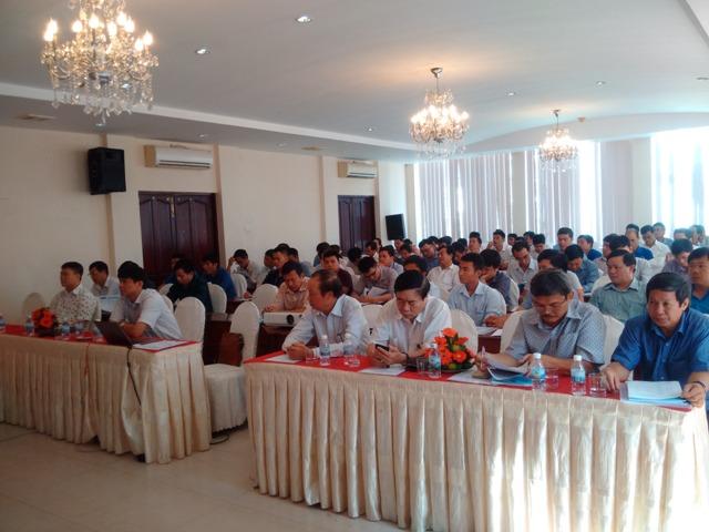 Khai giảng khóa đào tạo kiến thức nhằm tăng cường đầu tư sản xuất và sử dụng gạch không nung ở Việt Nam tại thành phố Nha Trang, tỉnh Khánh Hòa.