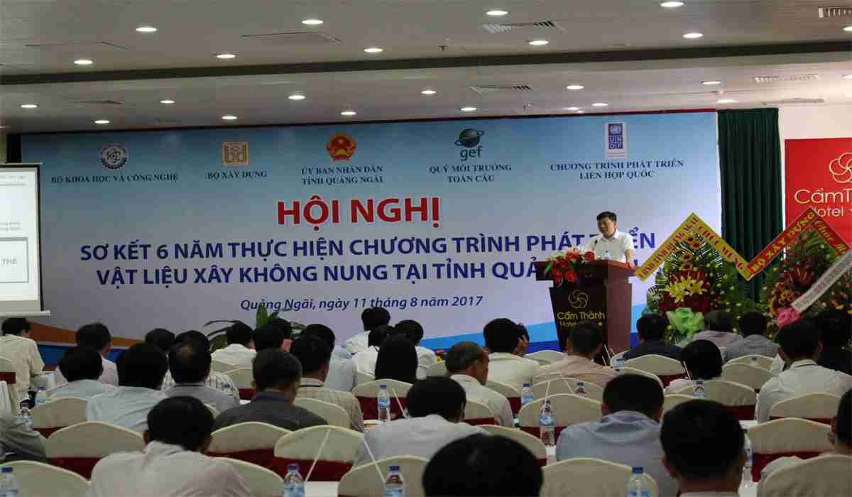 Conference on Reviewing 6-Year Results of NFBM Development Program and Roadmap to Remove Traditional Brick Kilns in Quang Ngai Province