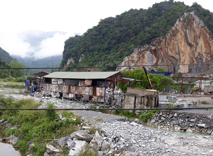 Thanh Hóa: Phụ phẩm khai thác và chế biến đá giúp phát triển sản xuất cát nghiền và gạch không nung