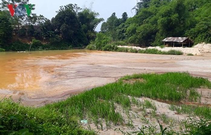 Vỡ đập mỏ cao lanh ở Lào Cai, doanh nghiệp bị xử phạt 250 triệu đồng