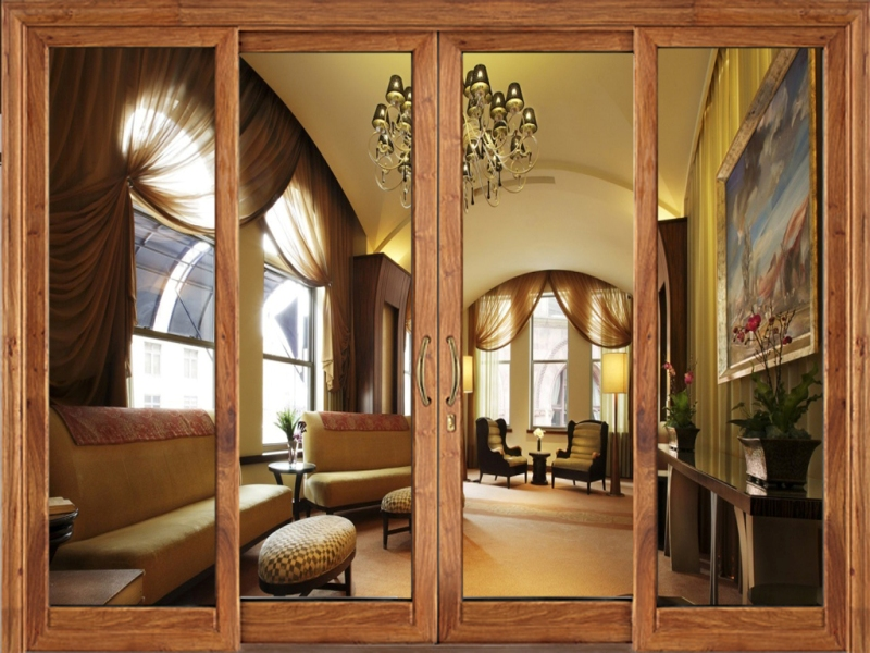Có nên sử dụng cửa nhôm Xingfa vân gỗ thay thế cửa gỗ truyền thống không?