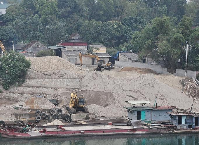 Tăng cường an toàn lao động lĩnh vực khai thác khoáng sản làm vật liệu xây dựng