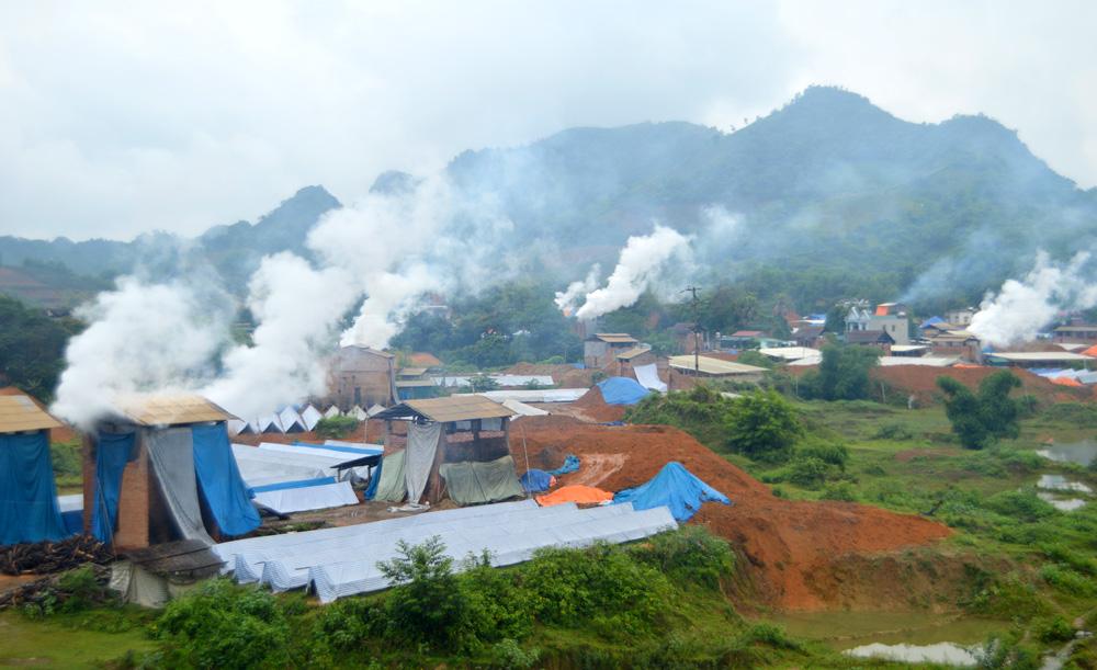 Sớm xóa bỏ lò gạch thủ công ở Tuyên Quang