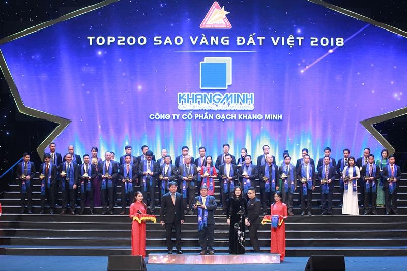 Khang Minh lọt Top 200 Sao Vàng đất Việt: Khẳng định giá trị thương hiệu vật liệu xanh