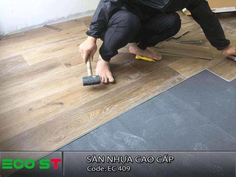 Sàn nhựa vân gỗ - Xu hướng vật liệu xây dựng mới