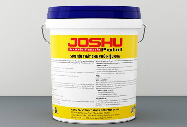 Sơn Joshu đạt được nhiều chứng nhận chất lượng tiêu chuẩn