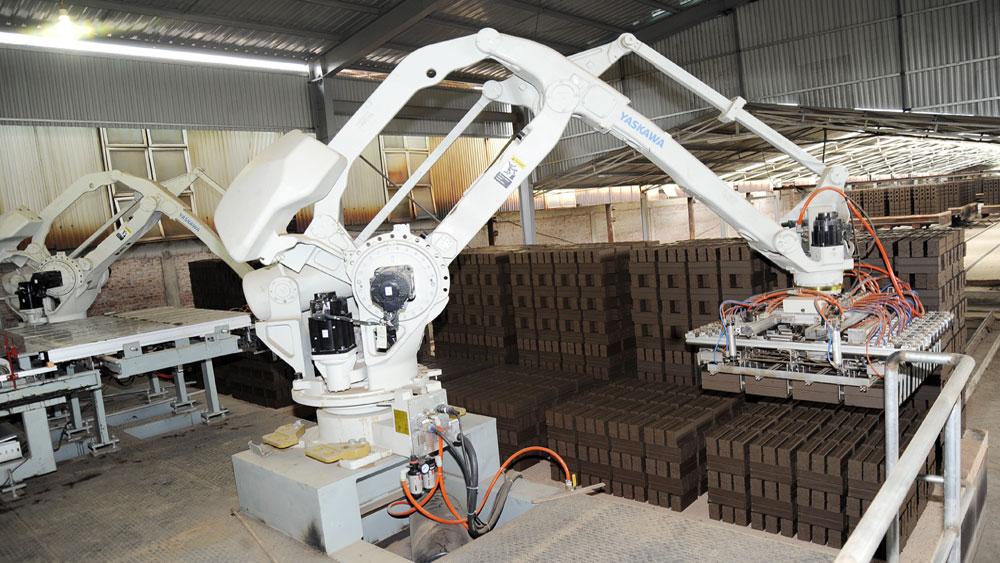 Bắc Giang: Ứng dụng công nghệ mới trong sản xuất gạch