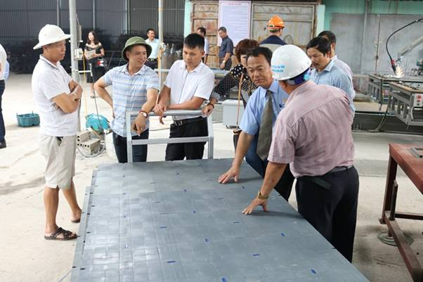 Quảng Ninh: Cốp pha nhựa lên ngôi trên thị trường xây dựng