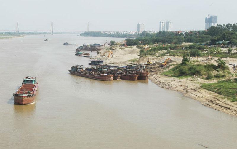 Sẽ có nghị định riêng về quản lý cát, sỏi lòng sông
