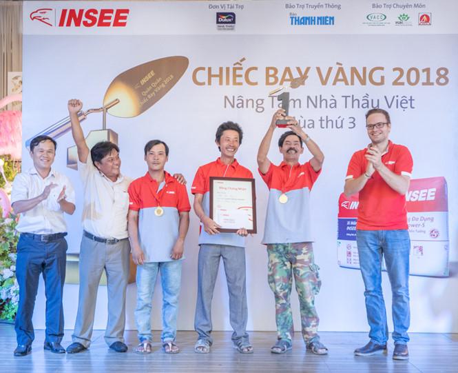 Xi măng INSEE công bố cuộc thi Chiếc bay vàng 2018 - Nâng tầm nhà thầu Việt
