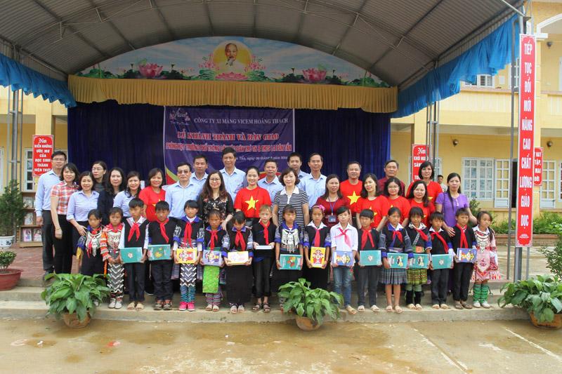 Mù Cang Chải (Yên Bái): Khánh thành lớp học tại xã La Pán Tẩn