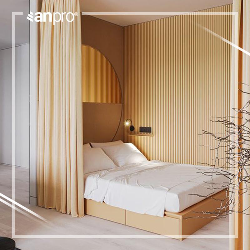Tấm ốp nhựa kiến trúc AnPro gia nhập thị trường vật liệu ốp tường