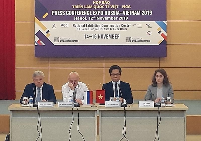 500 doanh nghiệp sẽ tham gia Triển lãm quốc tế Việt - Nga