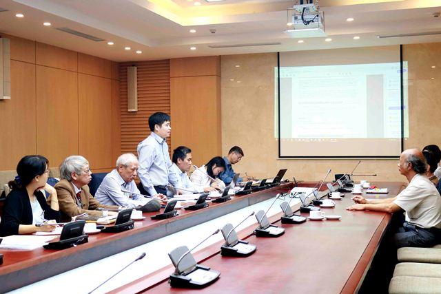 Nghiệm thu các dự thảo TCVN liên quan đến đặc tính hiệu quả năng lượng của vật liệu xây dựng