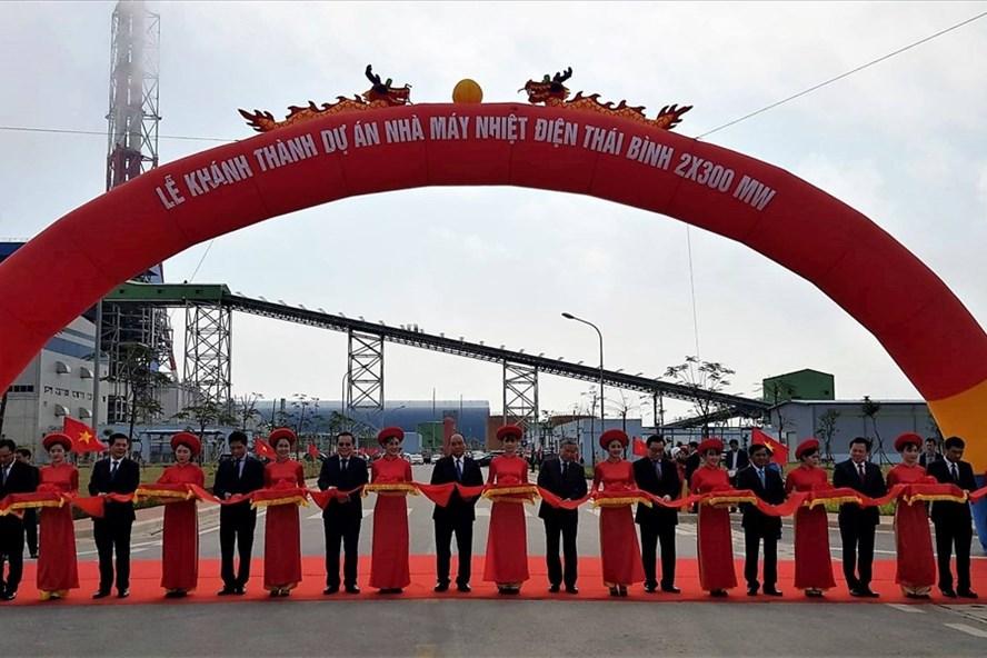 Thủ tướng tham dự khánh thành Nhà máy Nhiệt điện Thái Bình