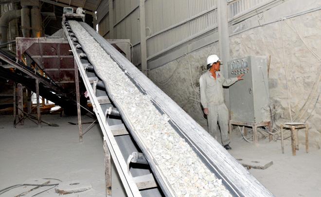 Điều chỉnh công suất khai thác và tuyển quặng cao lanh-fenspat