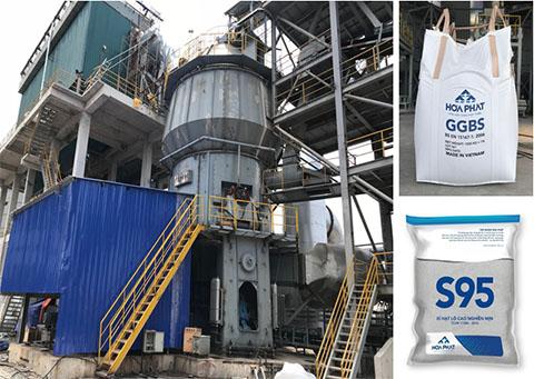 Công tác chế biến, tiêu thụ và sử dụng xỉ hạt lò cao tại Công ty CP Tập đoàn Hòa Phát (P2)