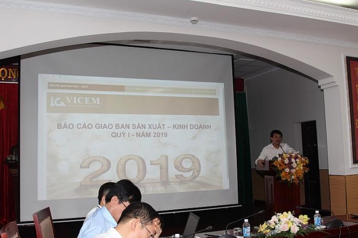 Tổng công ty Công nghiệp Xi măng Việt Nam hoàn thành tốt nhiệm vụ Sản xuất kinh doanh quý I năm 2019