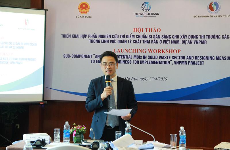 Hội thảo triển khai hợp phần xây dựng thị trường các-bon trong lĩnh vực quản lý chất thải rắn ở Việt Nam