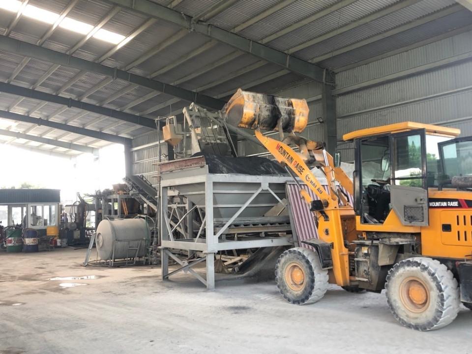 Ninh Bình: Đưa tro, xỉ vào sản xuất vật liệu xây dựng