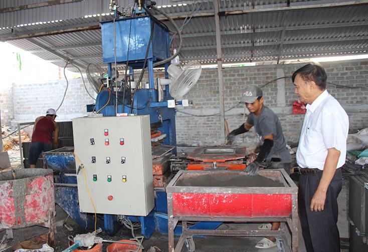 Quảng Bình: Gỡ khó cho sản xuất, tiêu thụ vật liệu xây dựng