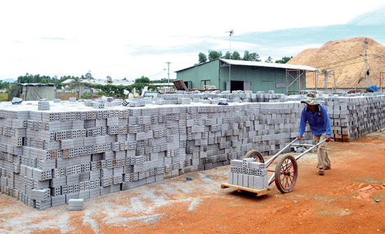 Quảng Nam: Tăng cường sản xuất và sử dụng vật liệu xây không nung