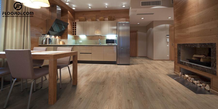 Thị trường sàn gỗ 2020 tăng trưởng cùng Vật liệu xanh