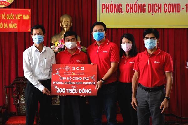 Công ty TNHH Xi măng SCG Việt Nam ủng hộ 200 triệu đồng phòng, chống dịch bệnh Covid-19