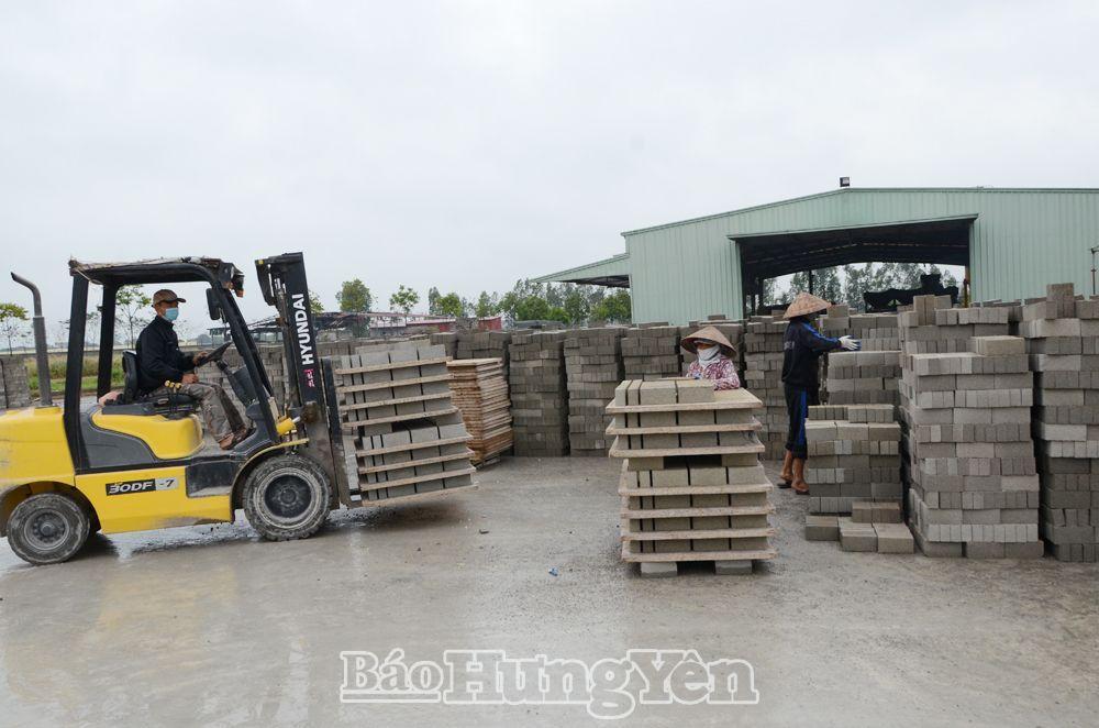 Hưng Yên: Đẩy mạnh phát triển vật liệu xây không nung