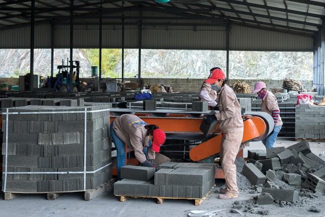 Nhiều doanh nghiệp sản xuất gạch không nung đóng cửa