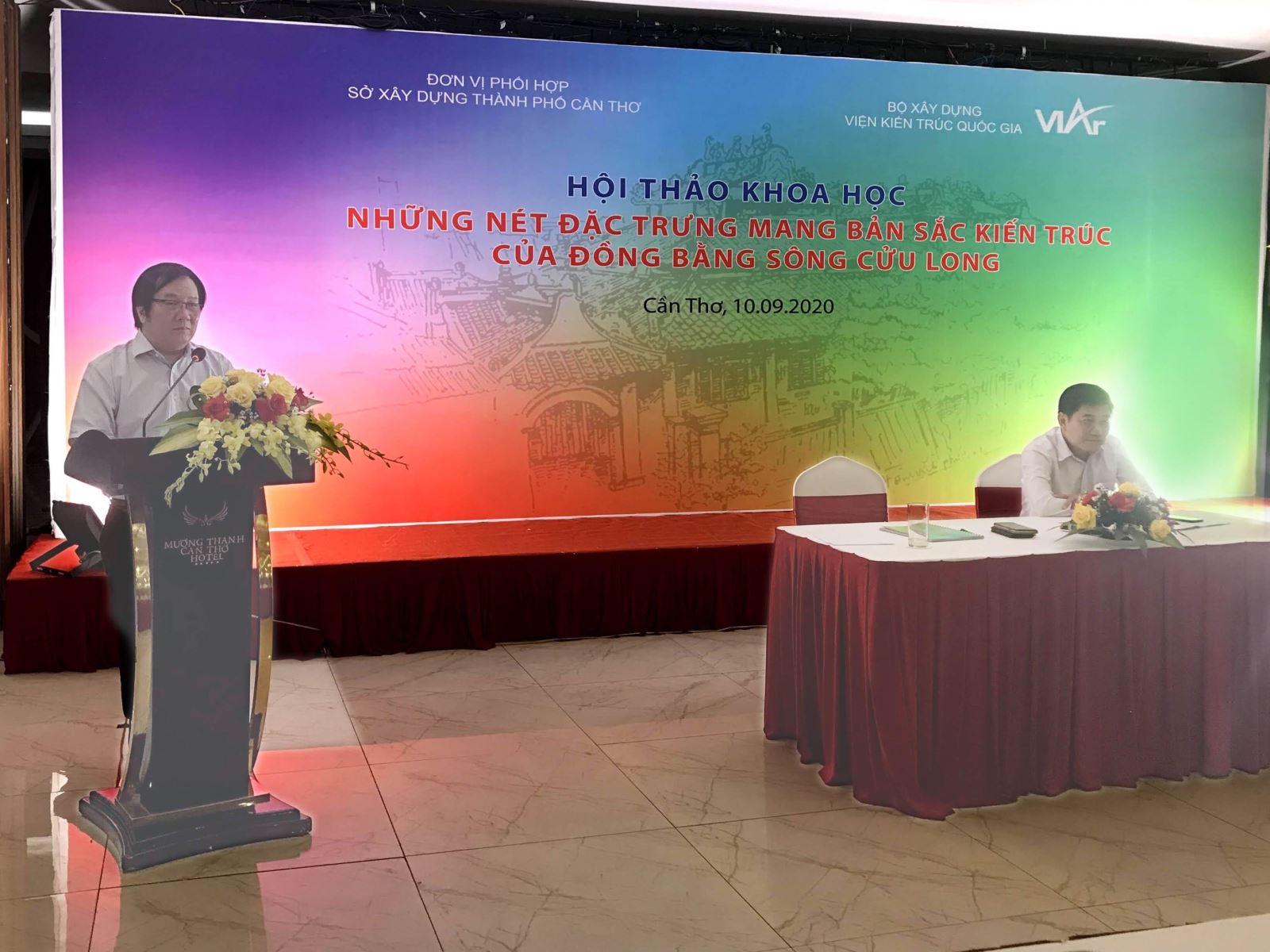 Viện Kiến trúc quốc gia tổ chức hội thảo khoa học về bản sắc kiến trúc vùng Đồng bằng Sông Cửu Long