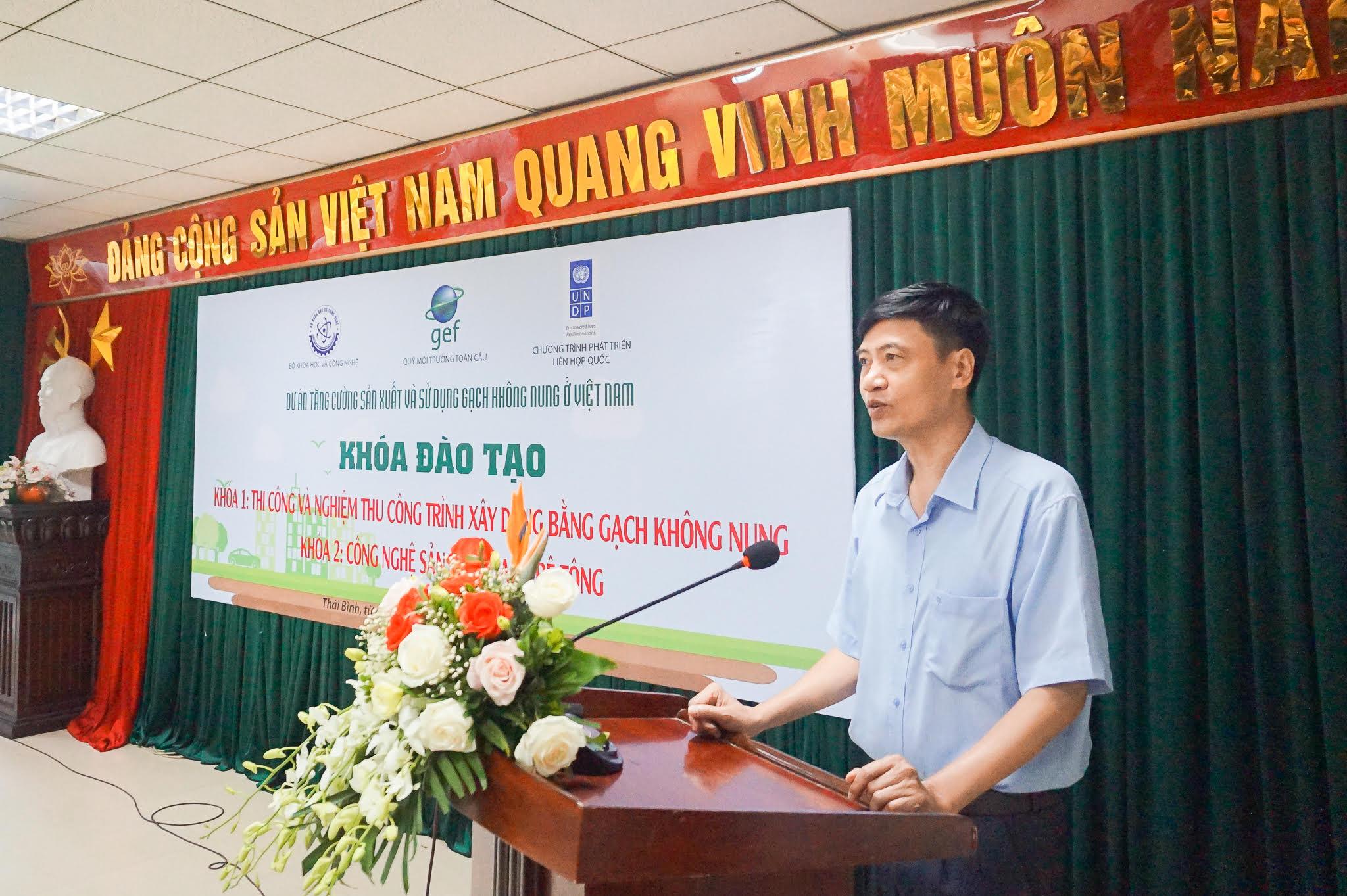 Đào tạo về sản xuất và thi công & nghiệm thu GKN tại Thái Bình ngày 20-21.09.2019